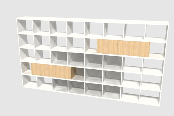 Boekenkastfabriek: Boekenkast voorbeelden