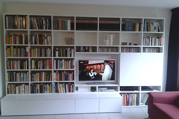 Tv Meubel Boekenkast. Awesome Boekenkast Timber With Tv Meubel ...